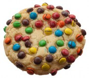 Sugar M&M Cookie from King Street Cookies